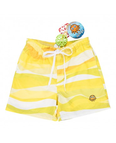 STORM YELLOW SWIM SHORT