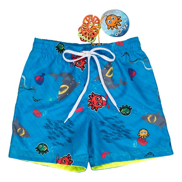 STORM BLUE SWIM SHORT