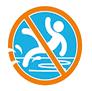 Sweakers antislip zwemsokken